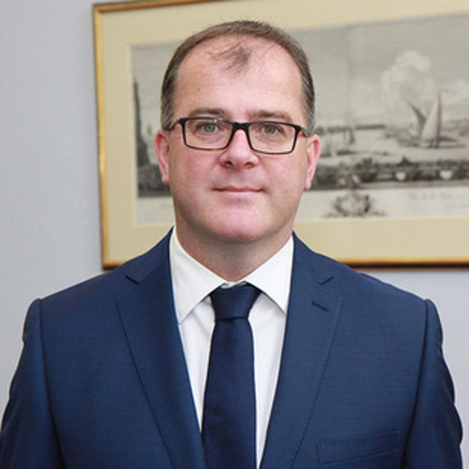 British High Commissioner to Mauritius, Keith Allan
