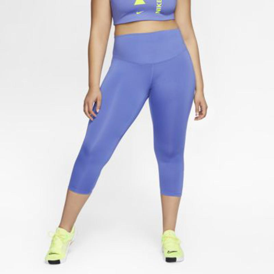 blue nike plus-size leggings.