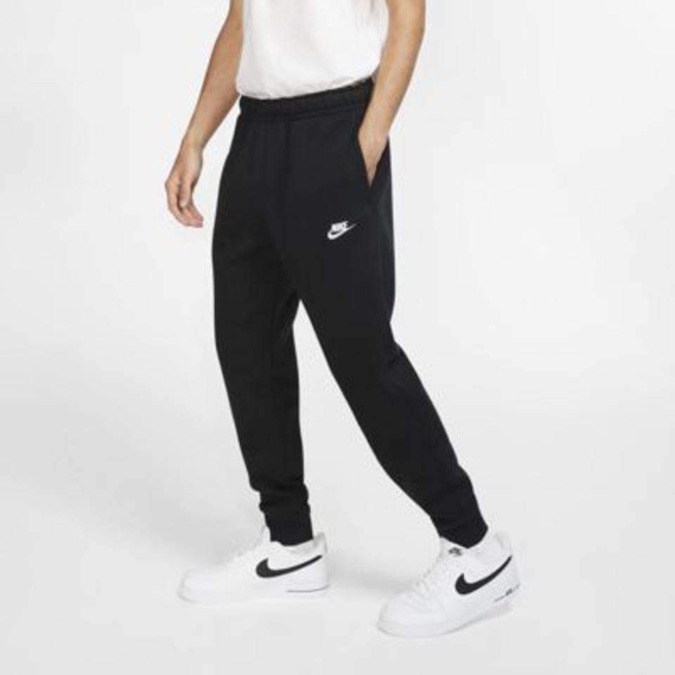 Nike black fleece joggers.