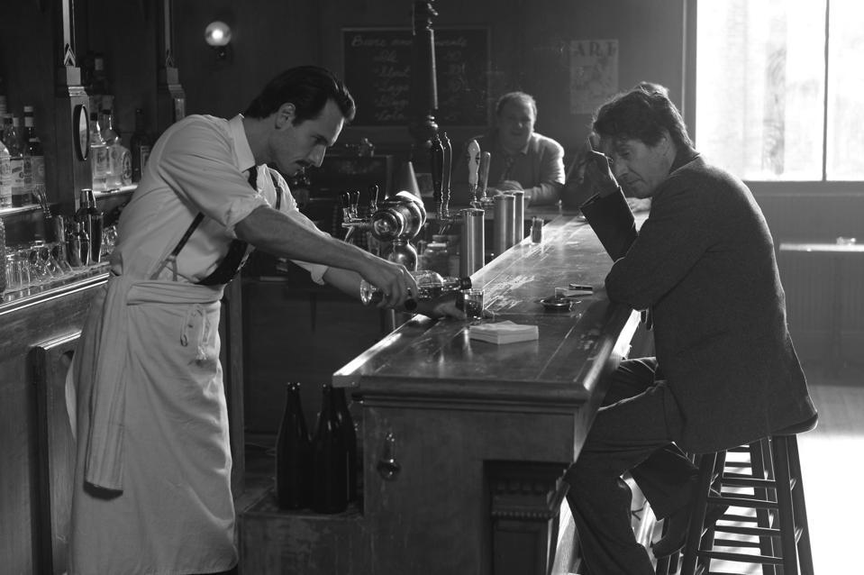 Rodrigo Santoro and Rhys Ifans in 'Last Call.″
