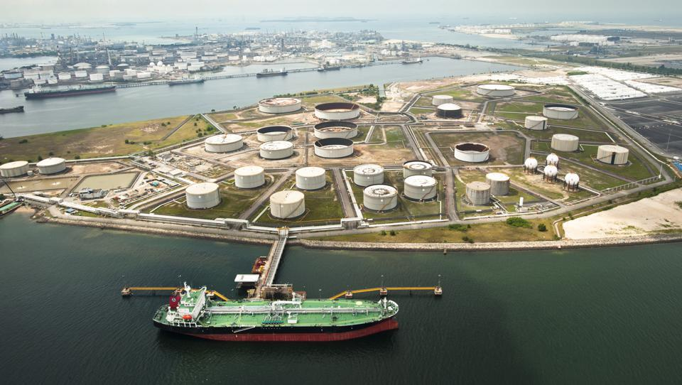 The controversial fuel was supplied from Singapore (see here, Singapore's storage farms)