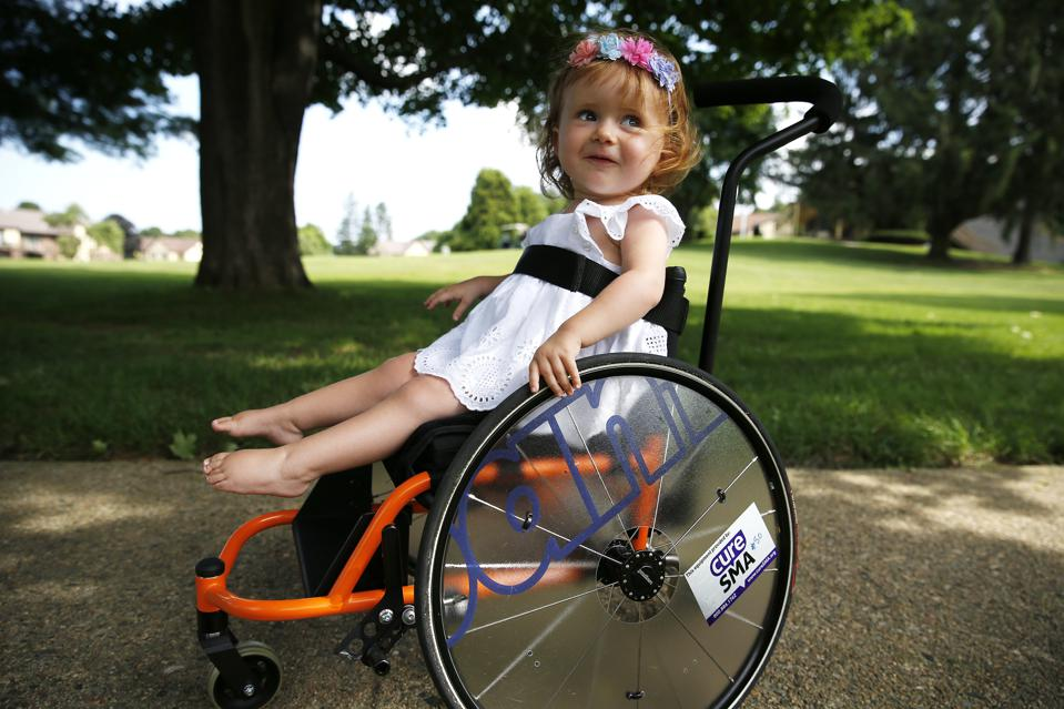 21-Month-Old Scheduled to Recieve $2.1 Millon Muscular Atrophy Drug