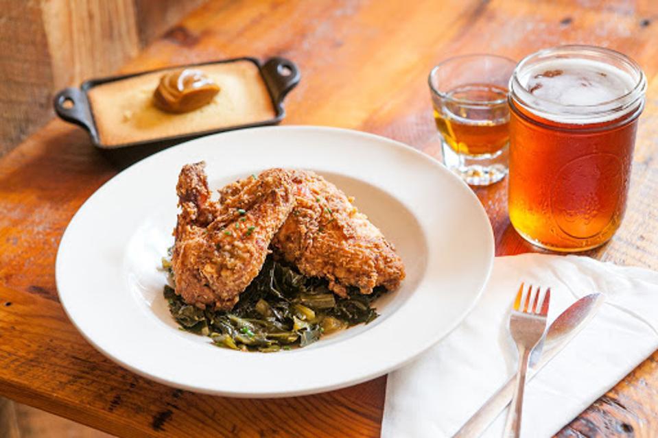 The Whiskey Jar Charlottesville Ten Course Hospitality restaurant bar Will Richey.