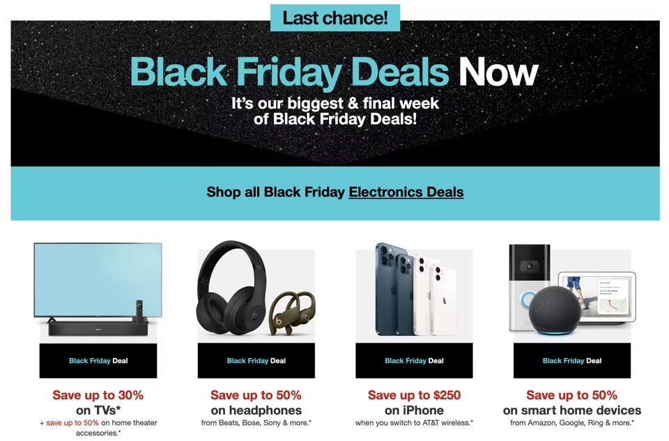 Target Black Friday deals 2020: TVs, iPhones, and more.