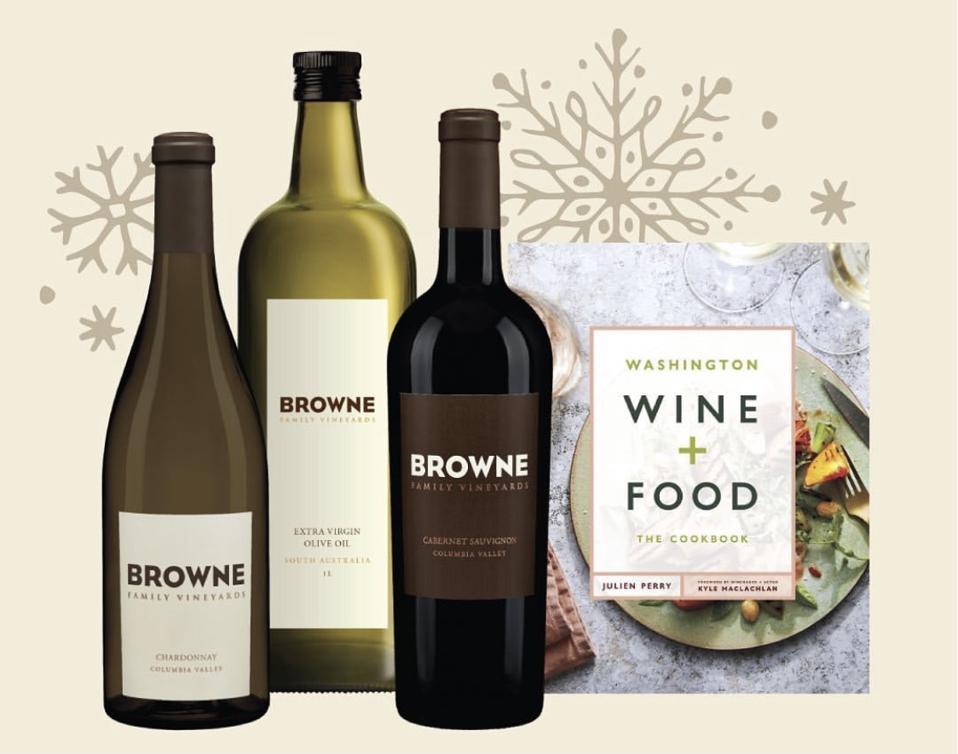 Browne Family Vineyards gift package