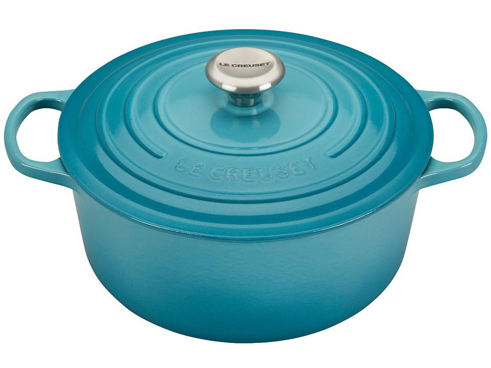 Le Creuset 5.5-Qt. Signature Enameled Cast Iron Round Dutch Oven