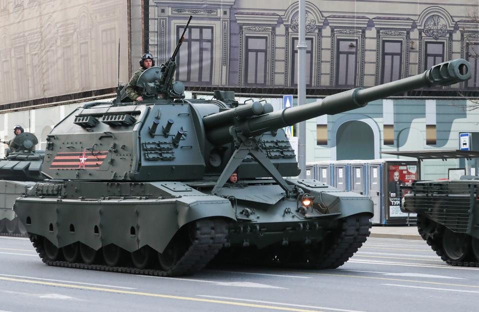 Military hardware arrives to rehearse Victory Day Parade in Moscow