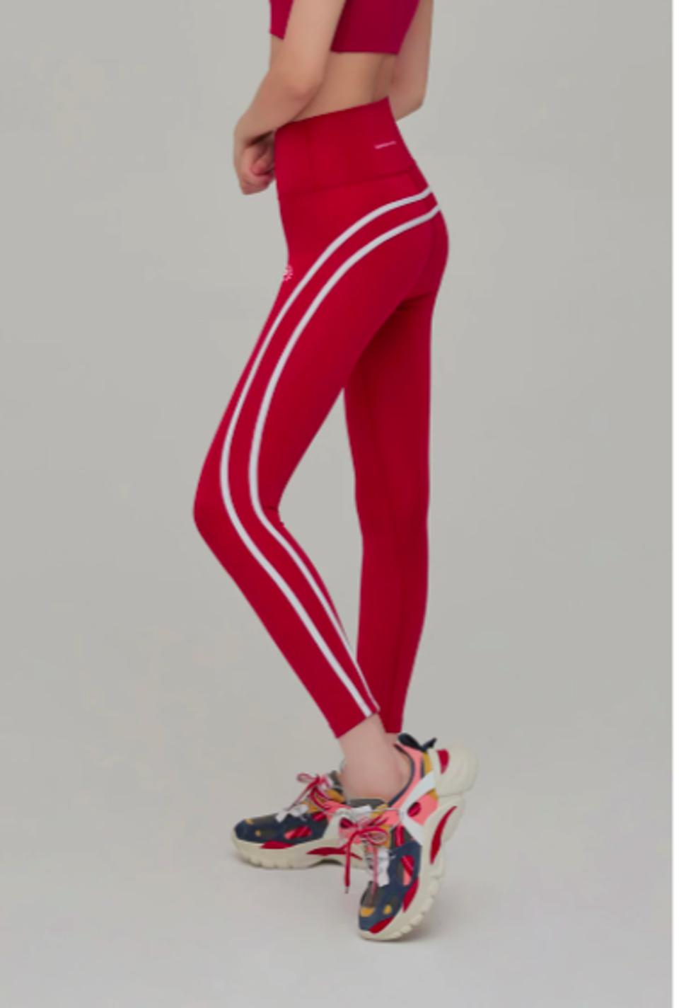 LUMNORA Lifting Stripe High Performance Leggings