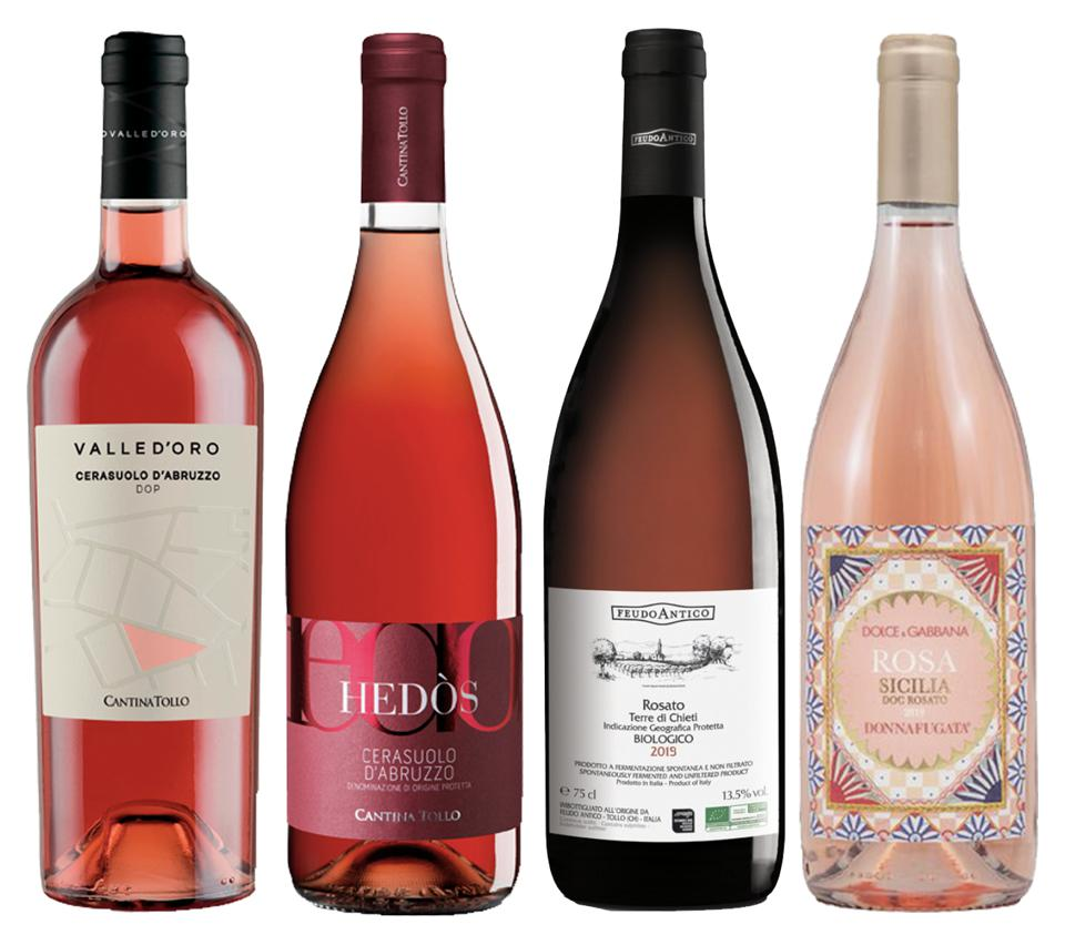 Rosés wines are made virtually all over Italy and go with everything on the Thanksgiving table