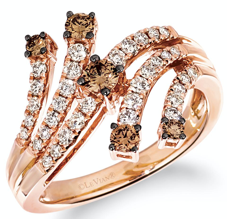 Le Vian Strawberry Gold diamond Ring, part of the Milestone collection. Designed to mark the special moments in our lives.