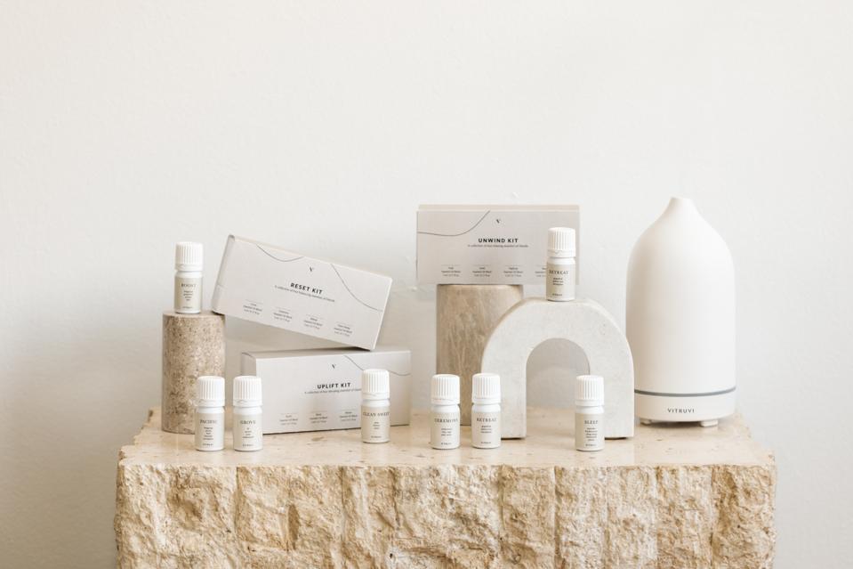 Blend Kits from VITRUVI aim to sooth, balance and reinvigorate senses.