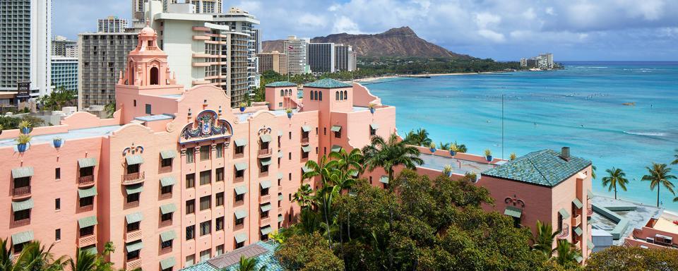 Hôtel Royal Hawaiian Oahu Hawaii gratuit