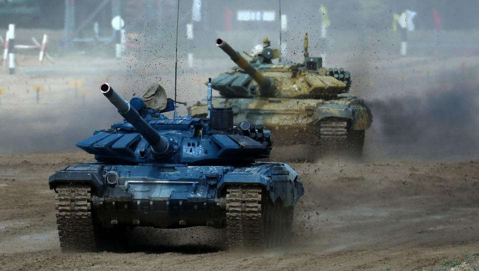 2020 International Army Games: Tank Biathlon Competition