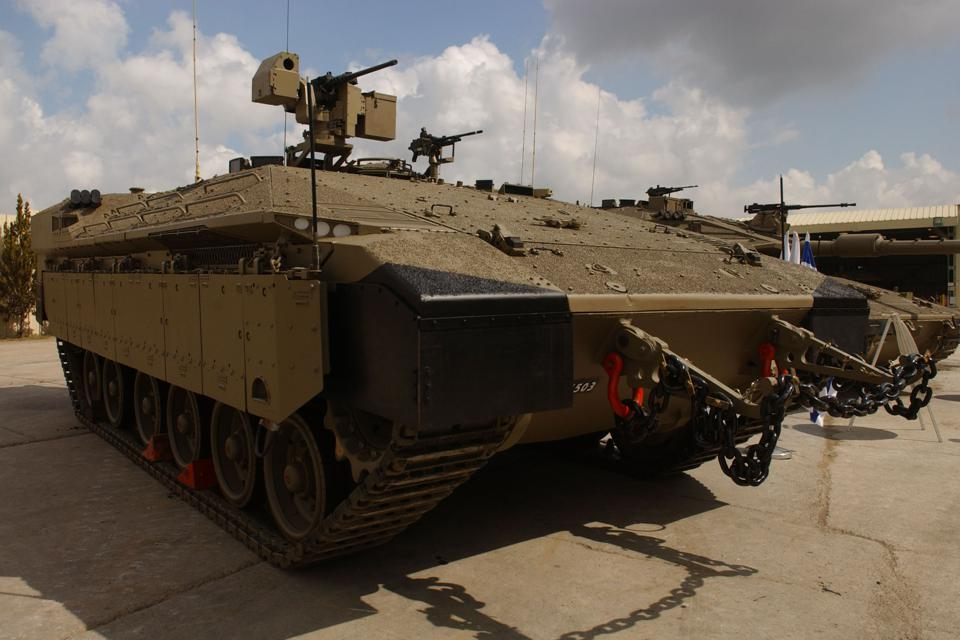 Israeli Army Unveils New Generation APC