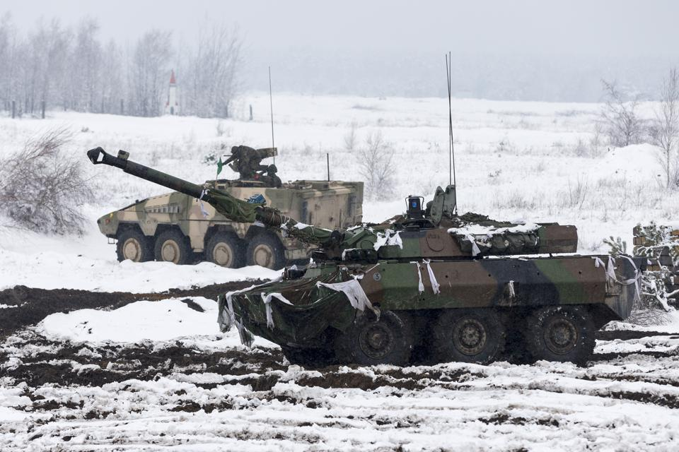 German-French Brigade Holds Military Exercises