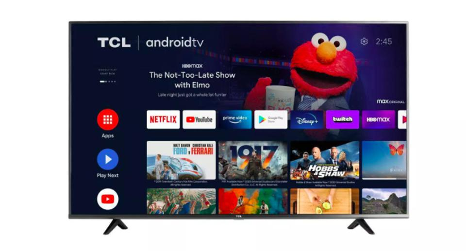 TCL 43″ Class 4-Series 4K UHD HDR Smart Android TV