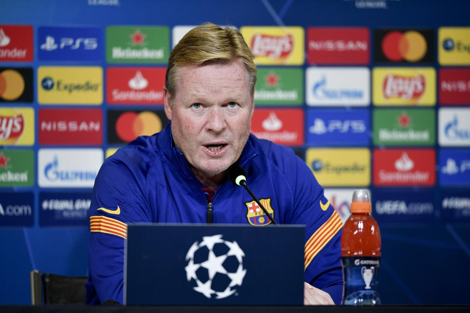 Ronald Koeman does not believe FC Barcelona can win the Champions League.