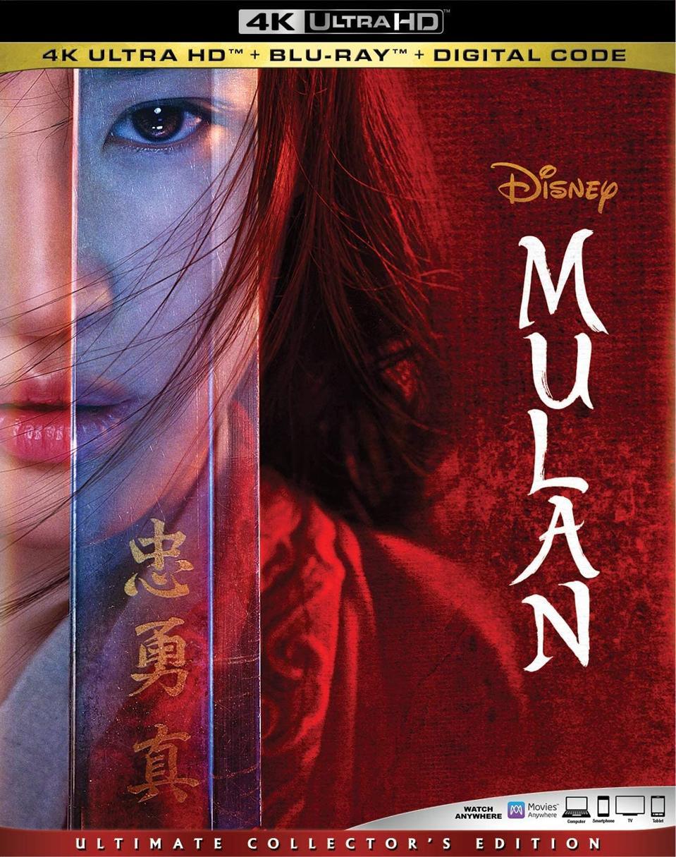 Mulan 4K Blu-ray box art