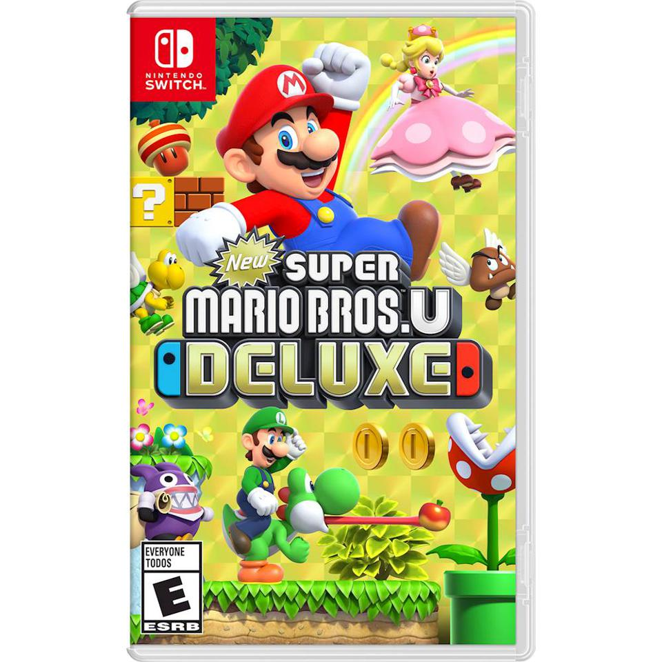 New Super Mario Bros. U Deluxe for Nintendo Switch retail packaging