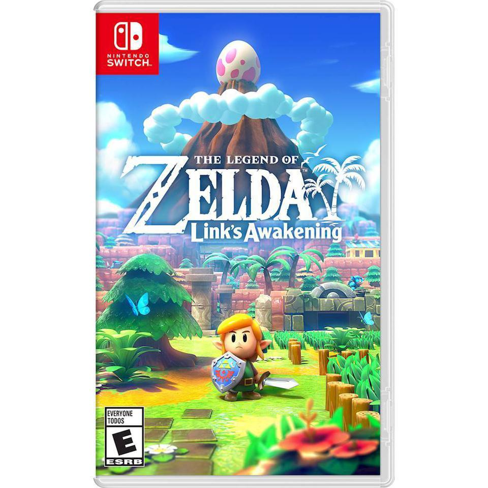 The Legend of Zelda: Link's Awakening for Nintendo Switch retail packaging