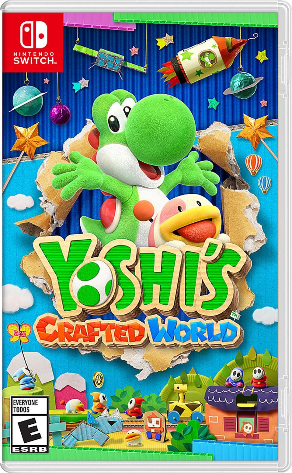 Yoshi's Crafted World for Nintendo Switch retail packaging
