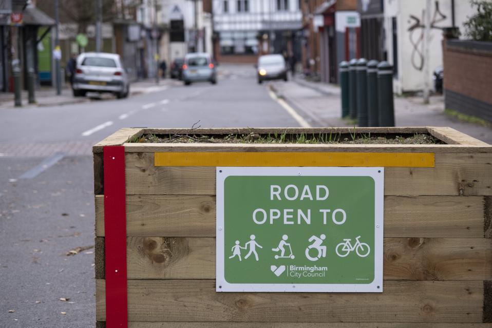 Low Traffic Neighbourhood In Birmingham