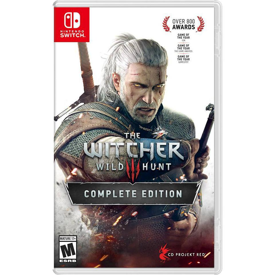 The Witcher 3: Wild Hunt Complete Edition for Nintendo Switch retail box art