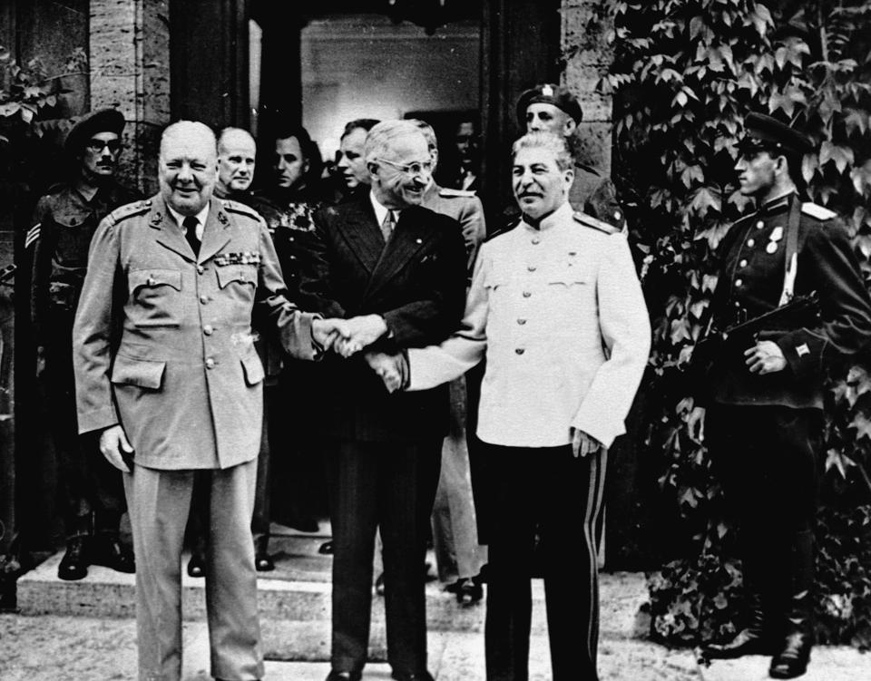 Allied Leaders at Potsdam Conference