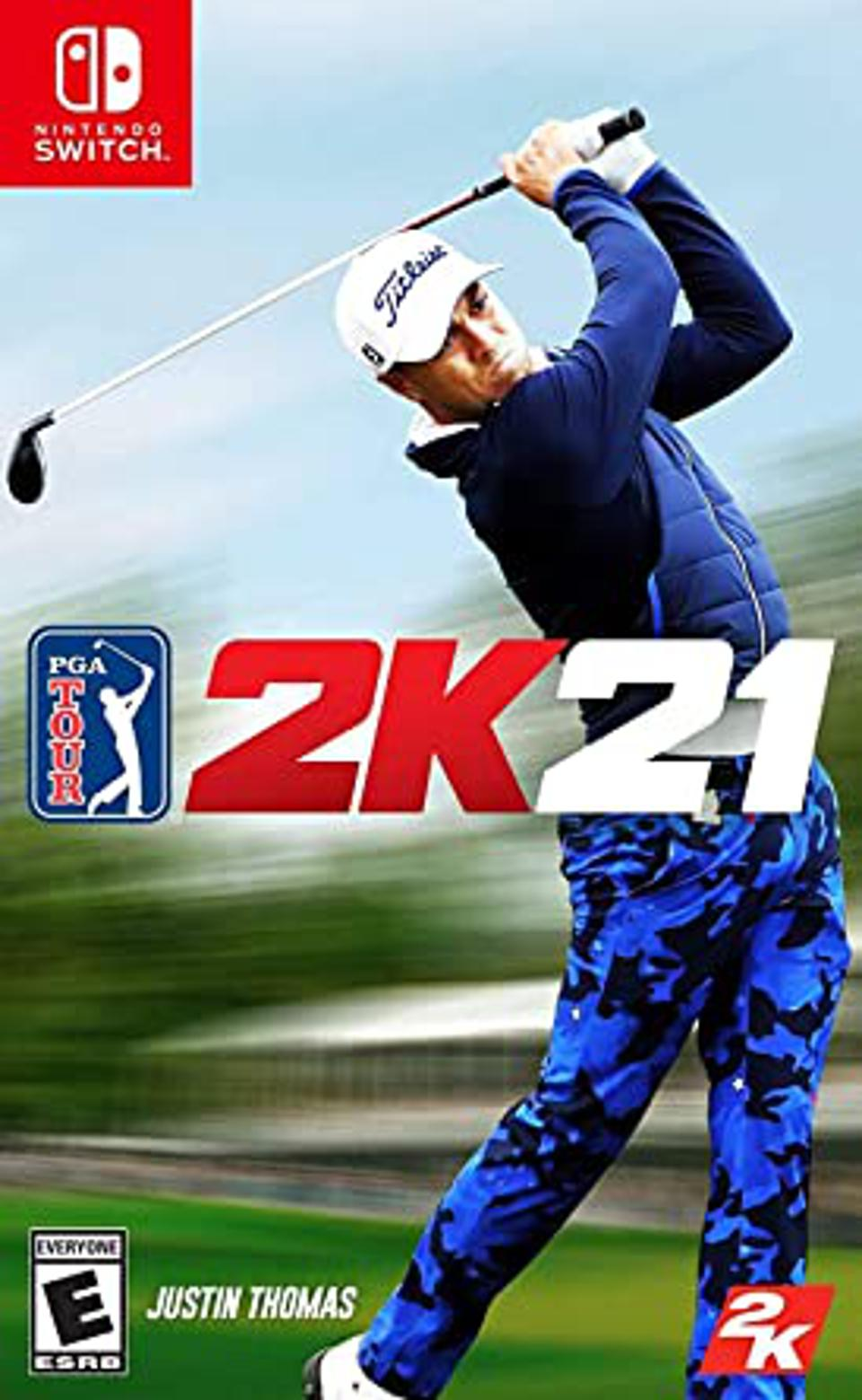 PGA Tour 2K21 for Nintendo Switch retail box art