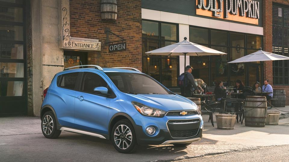 According to Mercury Insurance, the 2016-2019 Chevrolet Spark is tied for first place among the least expensive used cars to insure.
