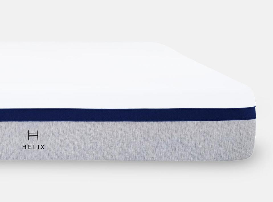 Stack of Helix mattresses