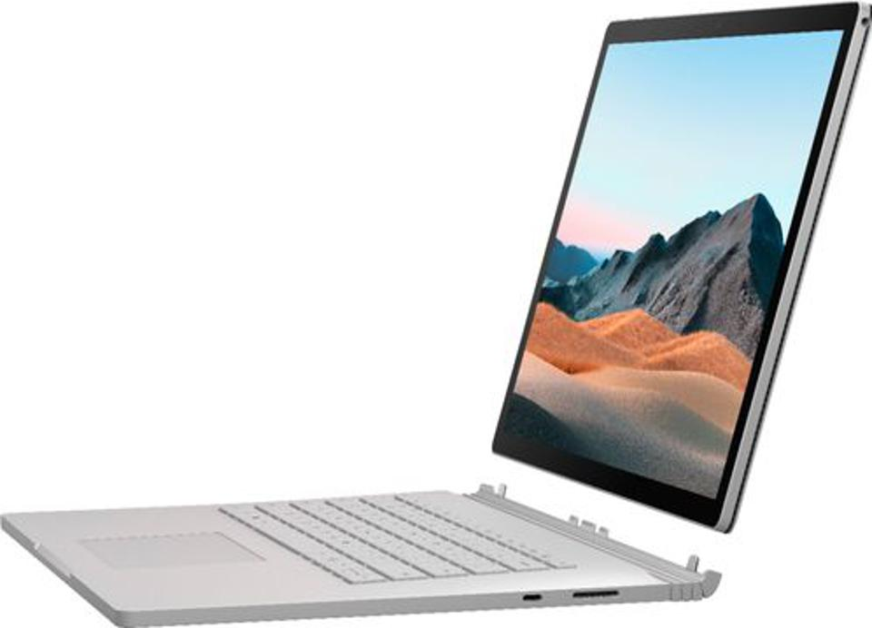 Microsoft Surface Book 3 2-in-1 laptop in tablet mode (keyboard detached)