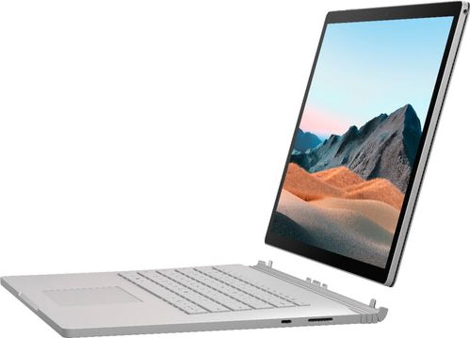 Laptop Microsoft Surface Book 3 2 en 1 en modo tableta (teclado separado)