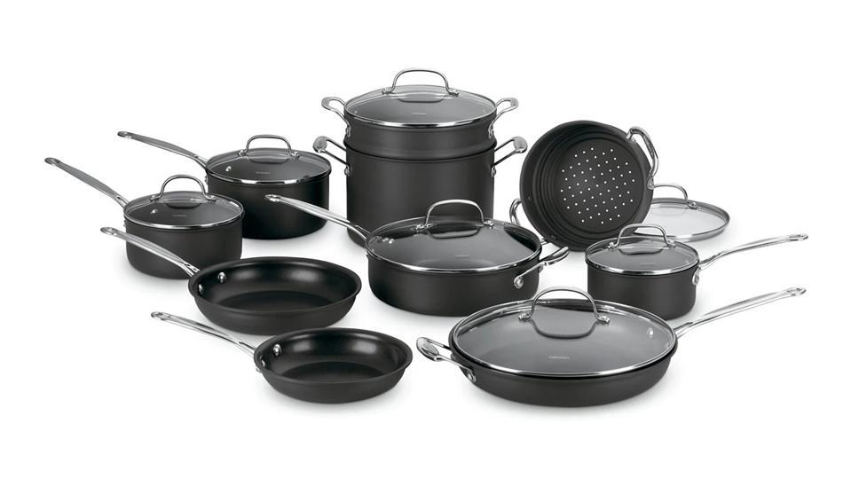Cuisinart® Chef's Classic™ 17-Pc. Non-Stick Hard Anodized Cookware Set