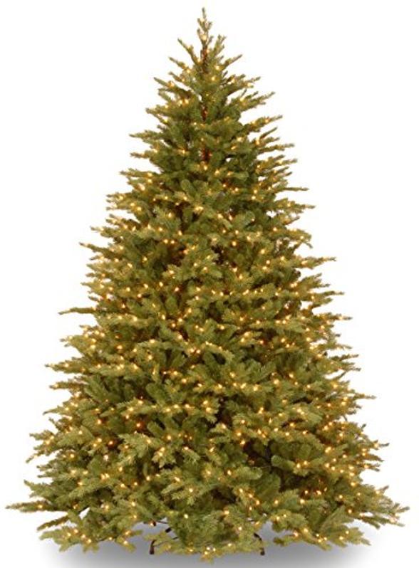National Tree Company 'Feel Real' Pre-lit Artificial 7.5 ft Christmas Tree