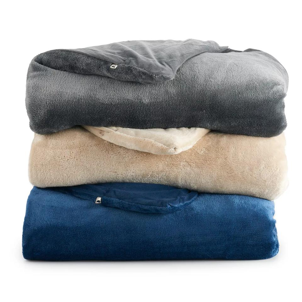 Brookstone Calming Weighted Throw Blanket - 15lb