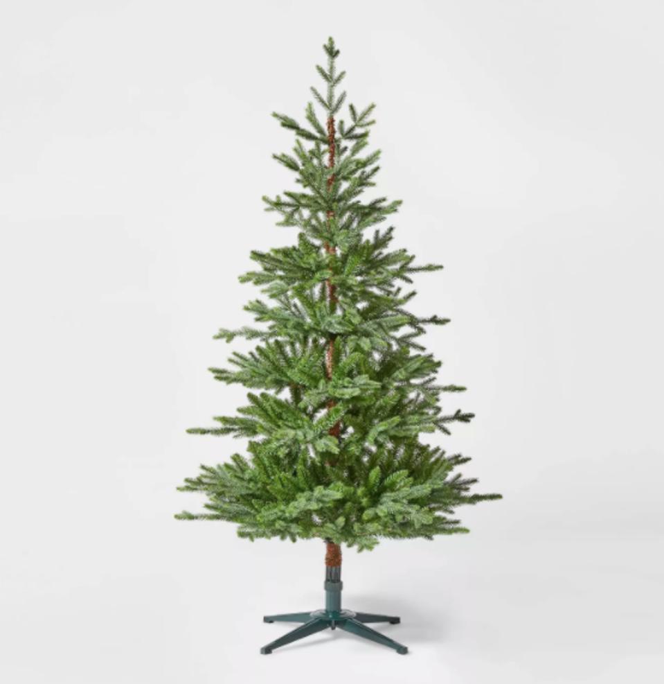 Wondershop 5.5ft Unlit Artificial Christmas Tree Green Indexed Balsam Fir