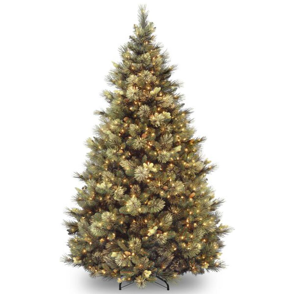 Isenhour Green Artificial Christmas Tree, 9 ft