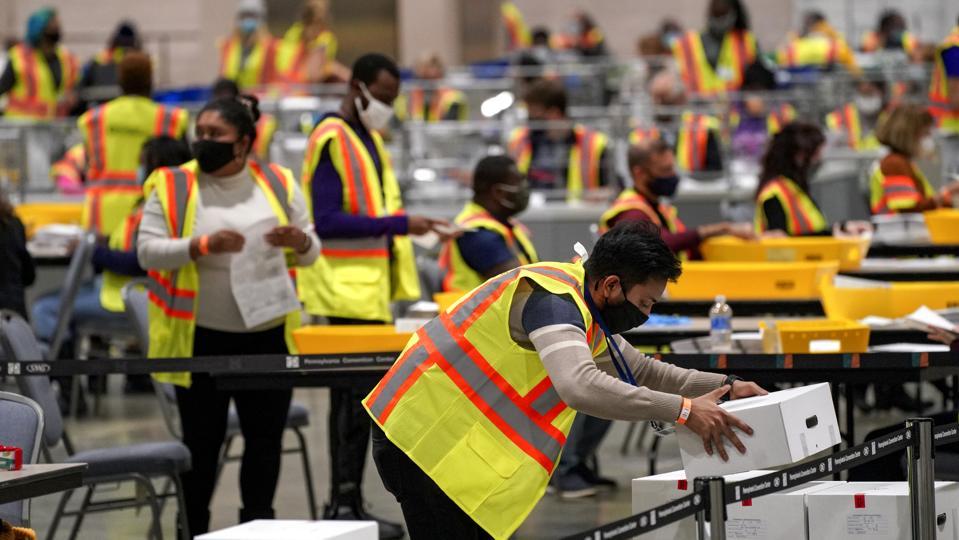 Philadelphia vote counting