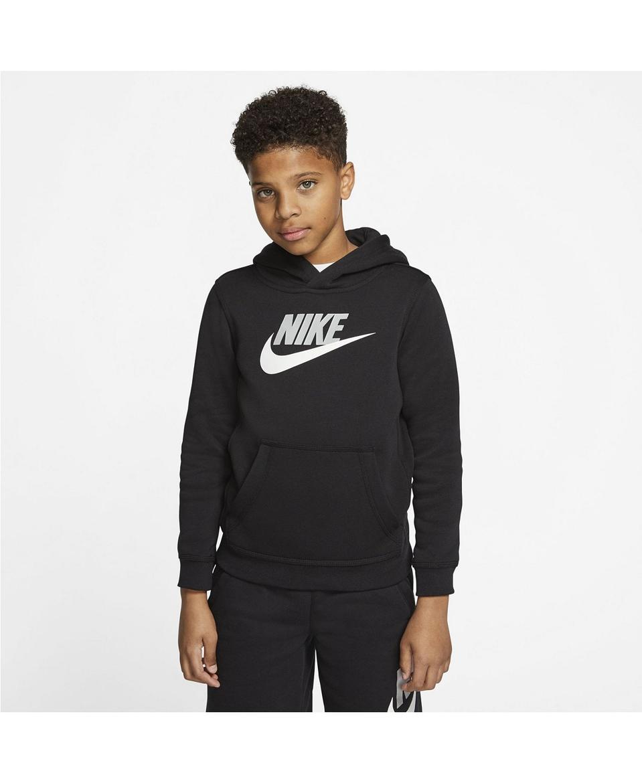 Nike Big Boys Sportswear Club Fleece Pullover Hoodie