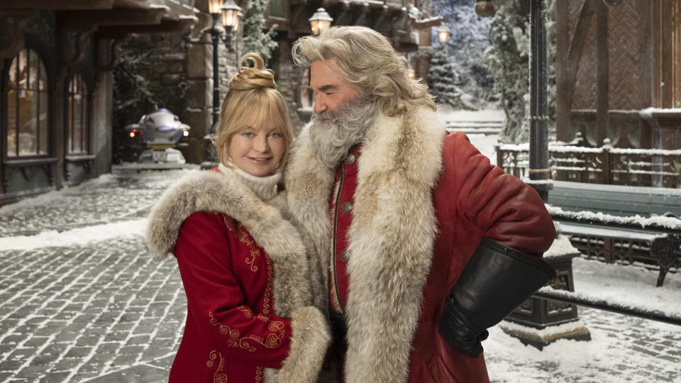 Kurt Russell Goldie Hawn santa claus The Christmas Chronicles Part Two