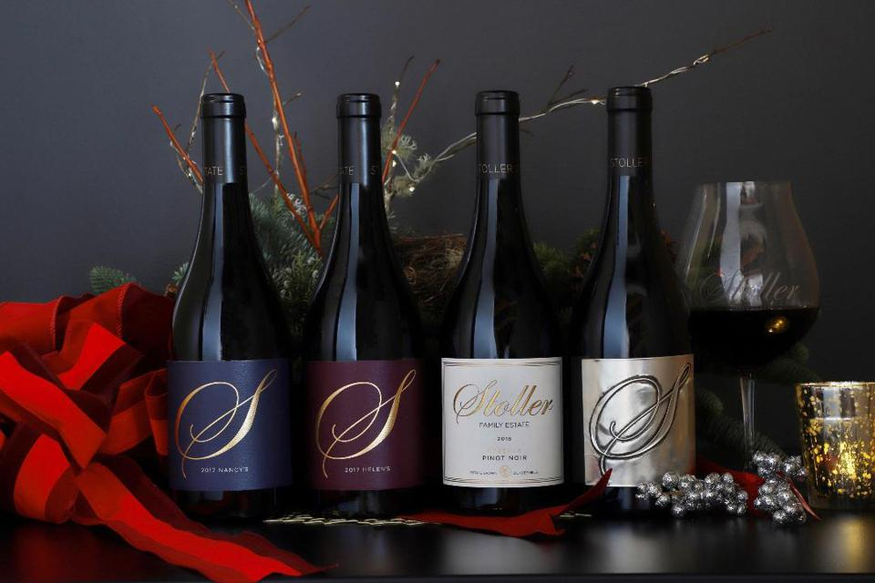 Some of Stoller Family Estate's flagship Pinot Noir bottlings