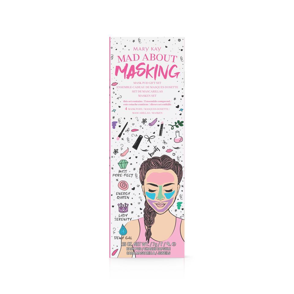 Mary Kay Limited Edition Mary Kay Mad About Masking Mask Pod Gift Set