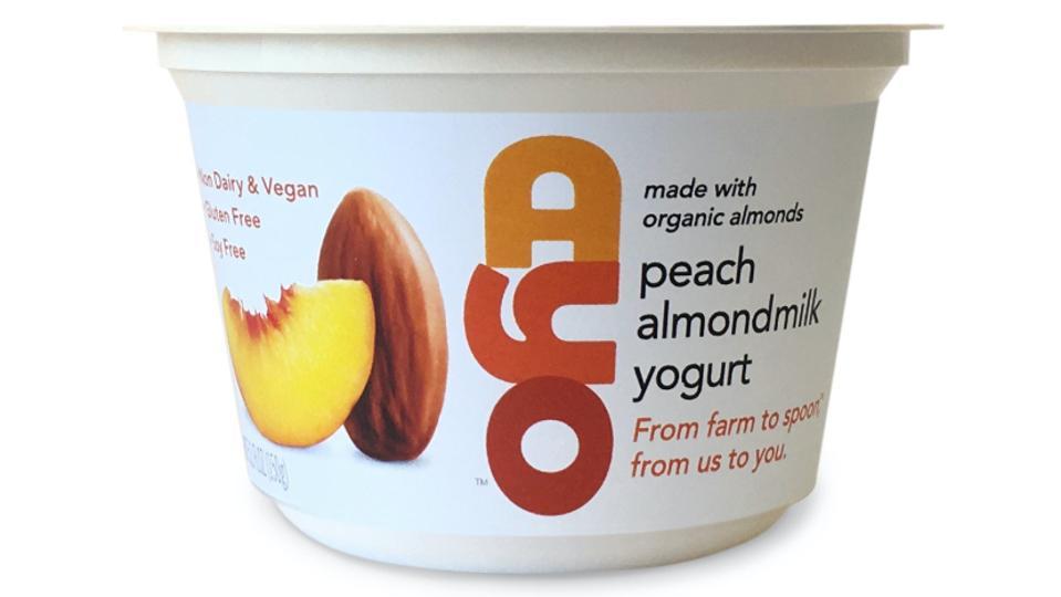 AYO Almond Yogurt peach
