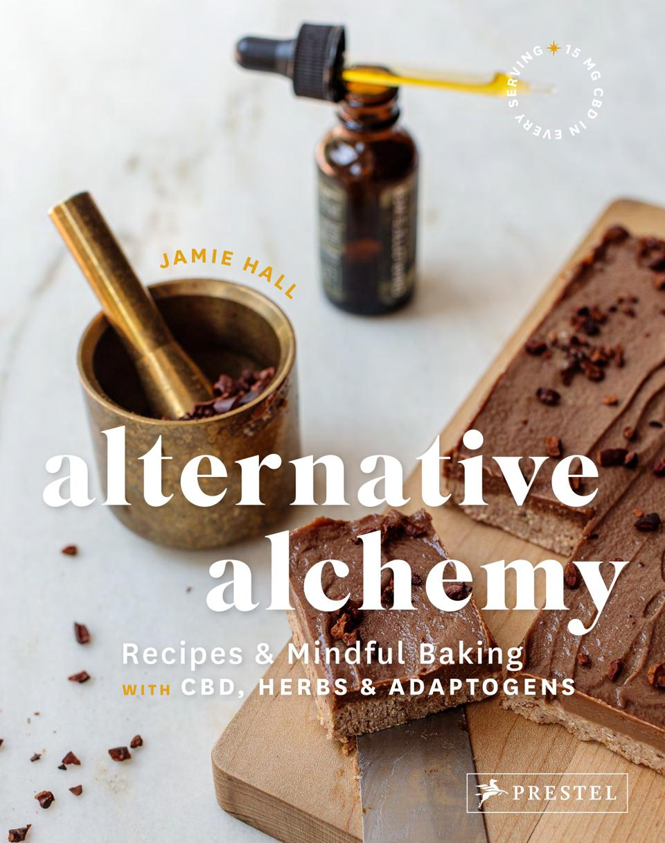 Jamie Hall's book about baking with CBD.