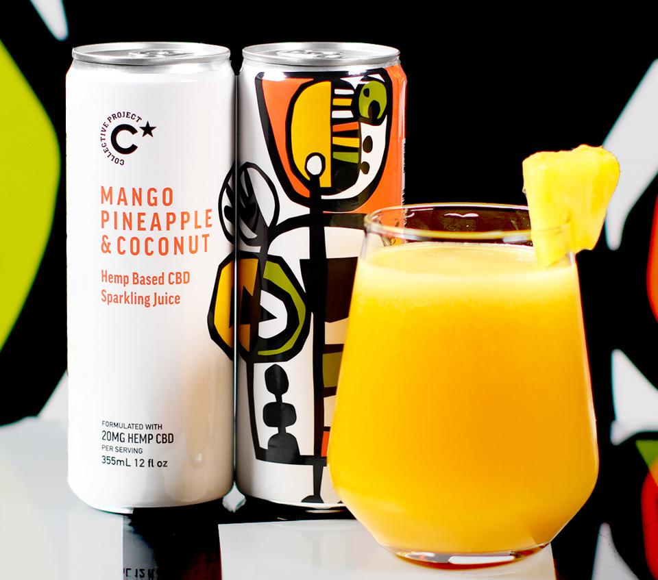 Collective Project Cbd-infused Sparkling Juices