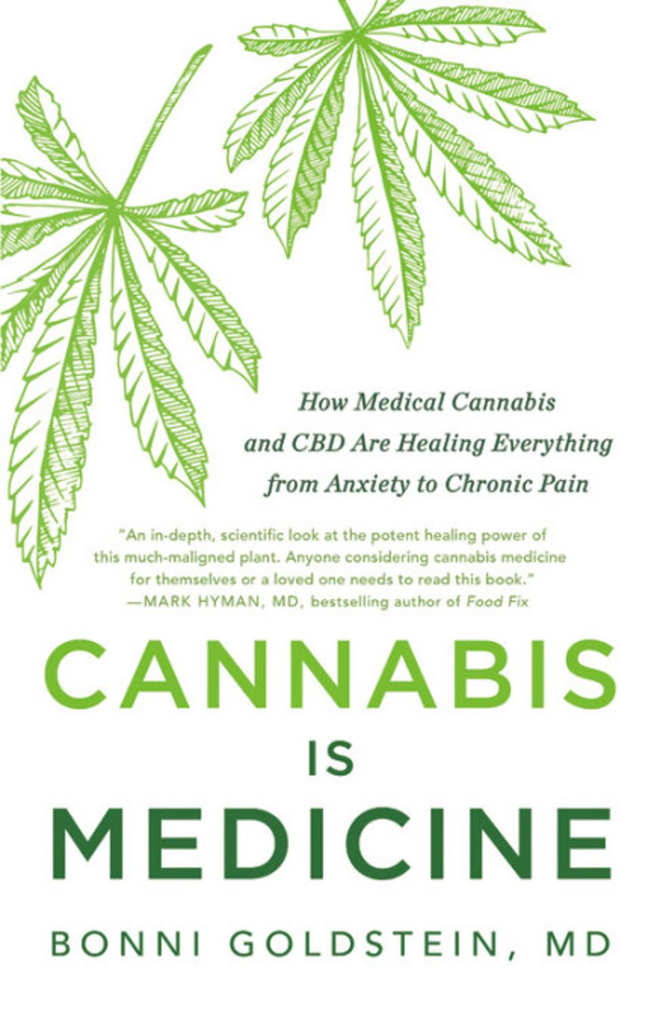 Dr. Bonni Goldstein's book, Cannabis Is Medicine