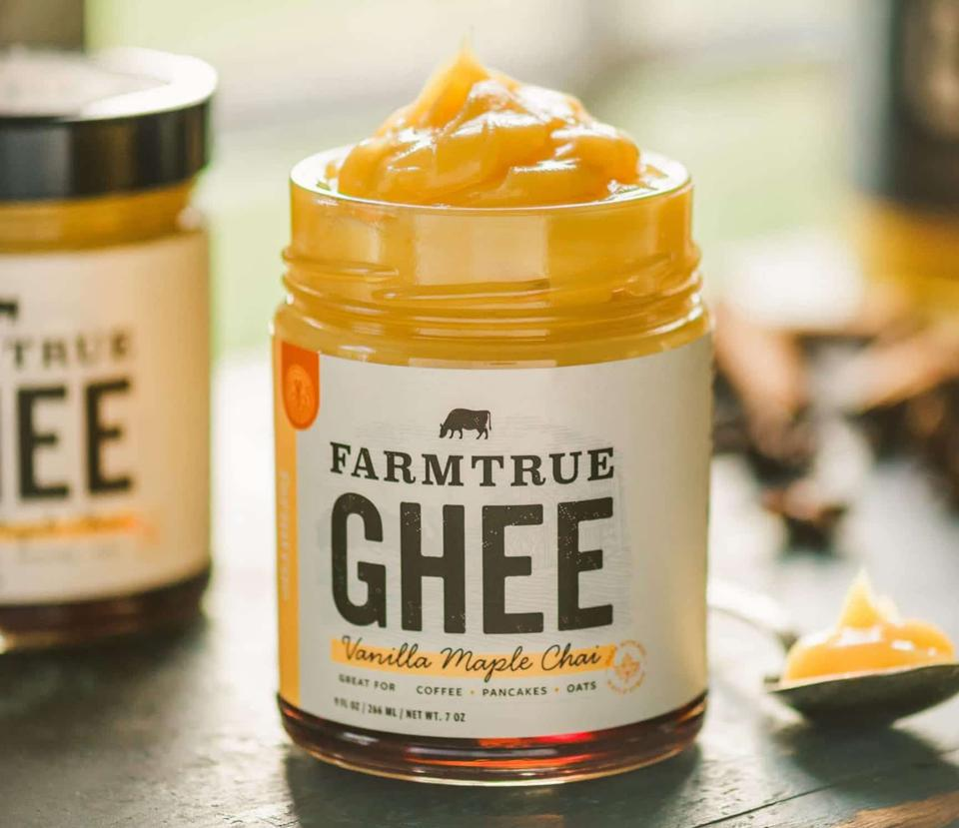 Farmtrue Ghee Vanilla Maple Chai ayurvedic organic