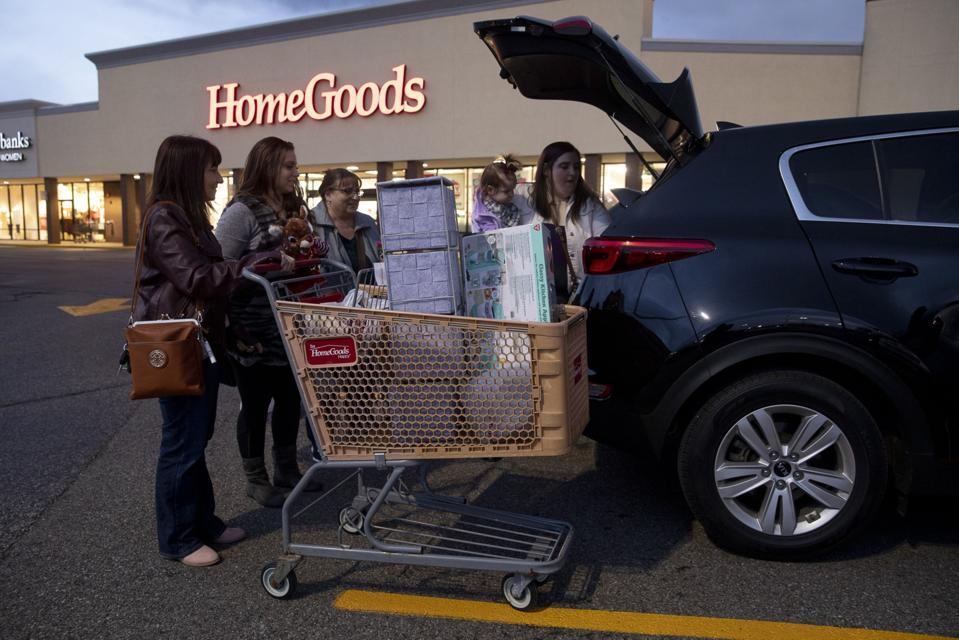 TJX Stores Ahead Of Earnings Figures