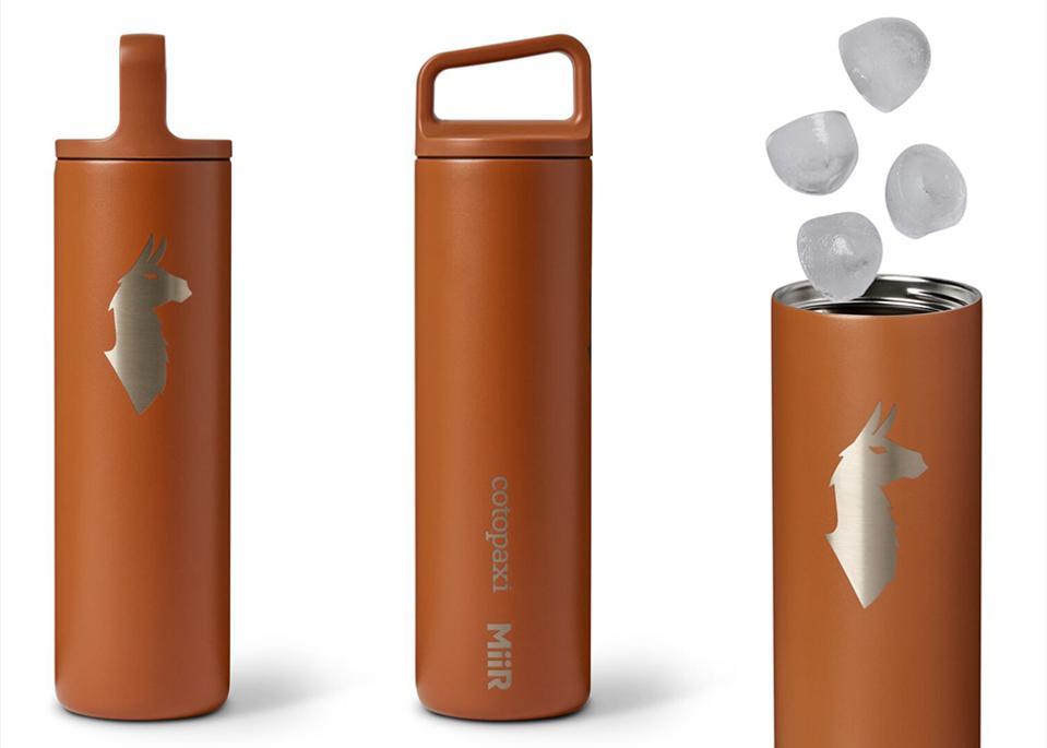Cotopaxi x MiiR Llama Stainless Steel Water Bottle